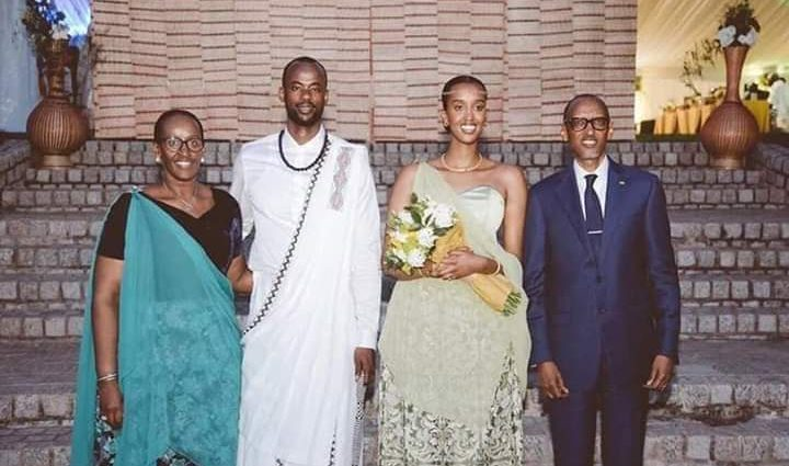 LA FILLE DU PRÉSIDENT KAGAME SE MARIE DANS LA SIMPLICITÉ