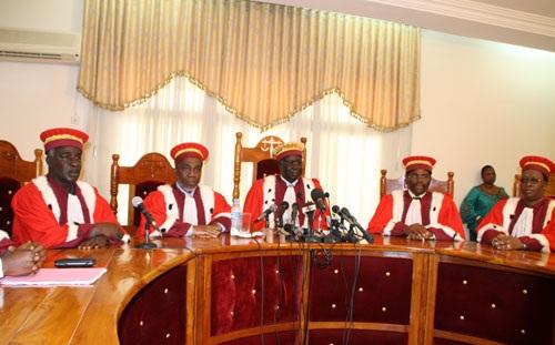 La Cour constitutionnelle a publié les noms des députés issus des législatives controversées