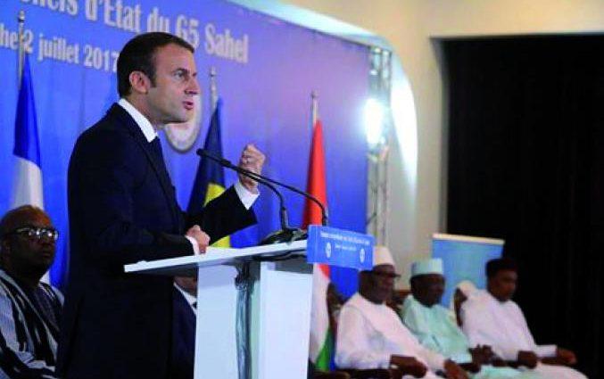 La France est en train de mettre la pression sur les chefs d'Etat africains
