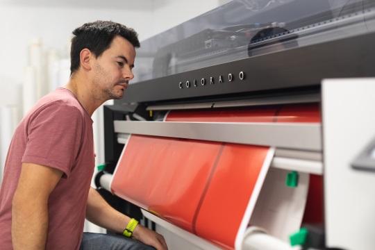 La technologie Canon UVgel au service de la croissance des imprimeries dans la zone EMEA
