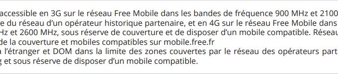 Free Mobile officialise la 4G en roaming à l'international