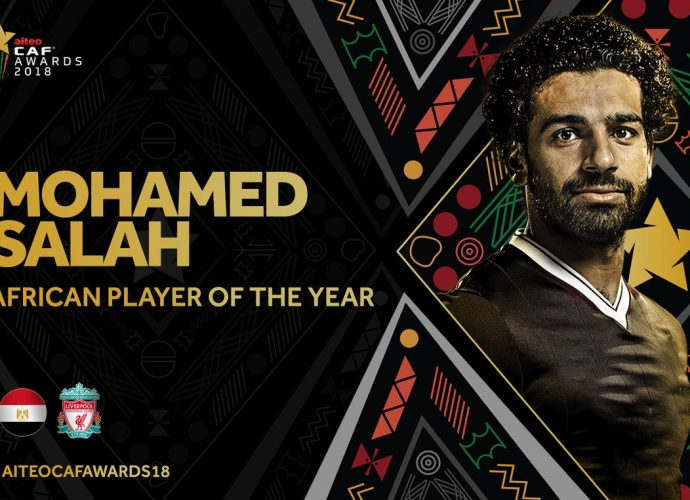 Footballeur africain de l'année : Mohamed Salah !