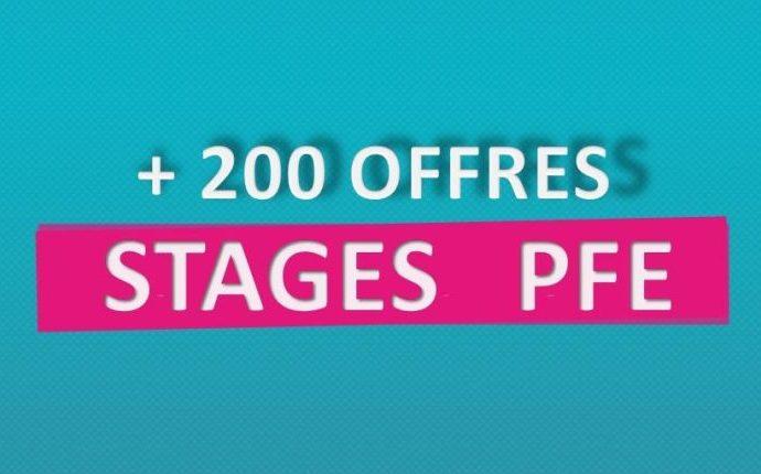 Collection de [+201 Catalogues : des stages PFE 2019]