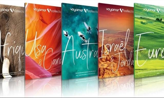 Les nouveaux catalogues été de Voyamar sont en agence de voyages