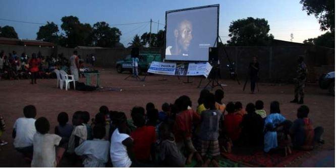 En Centrafrique, le cinéma reprend des couleurs