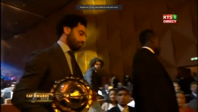 Mohamed Salah ballon d'or, la réaction de Sadio Mané ! (photo)