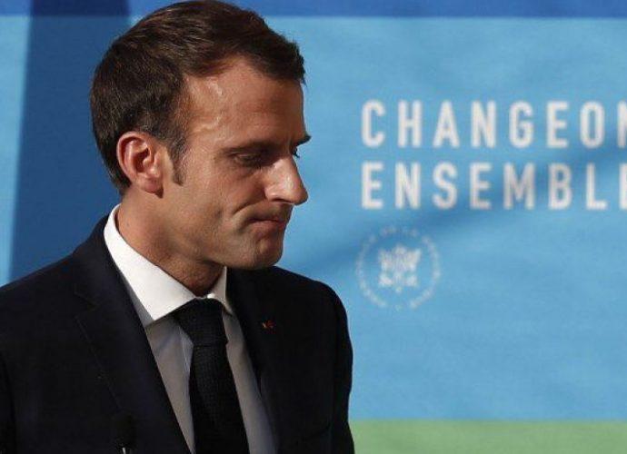"""Taxe carbone : Macron contre toute nouvelle """"hausse de la fiscalité"""""""