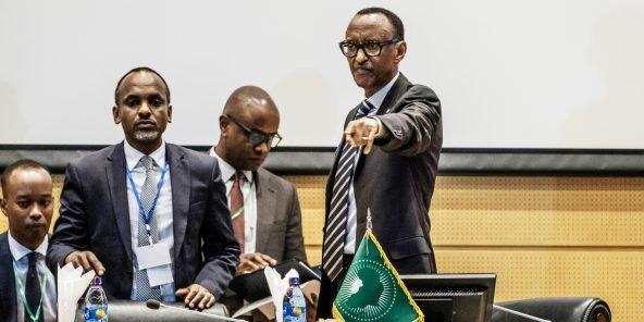 Sommet de l'UA : Bilan d'une année hyperactive pour Paul Kagame, l'homme pressé.