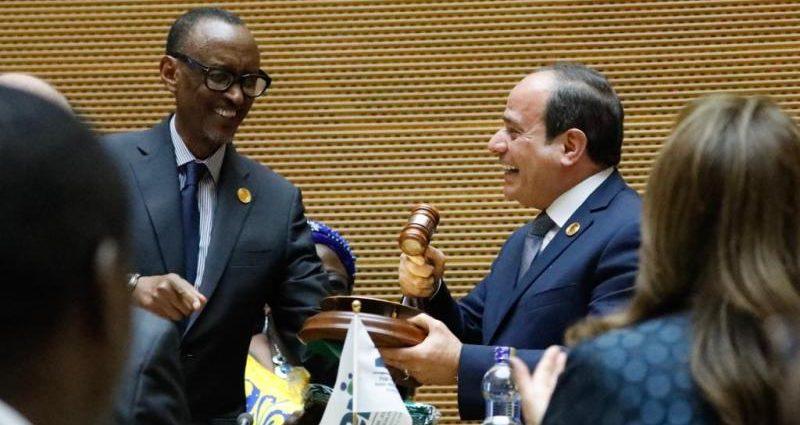 Abdel Fattah al-Sissi à la tête de l'Union Africaine