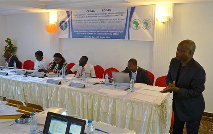 Le Gabon abrite un atelier de validation du projet de stratégie de communication de la CEEAC