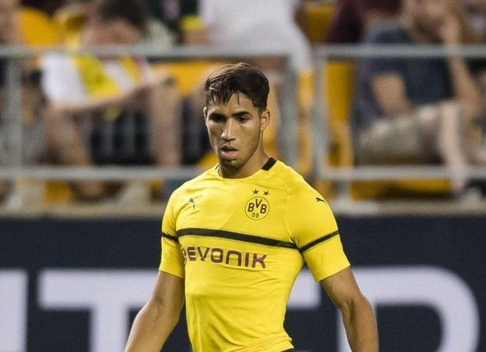 Allemagne Achraf Hakimi: Le Marocain joueur le plus rapide de la Bundesliga