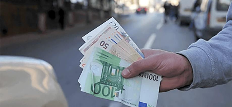 Algérie : l'euro repart à la hausse face au dinar algérien sur le marché informel