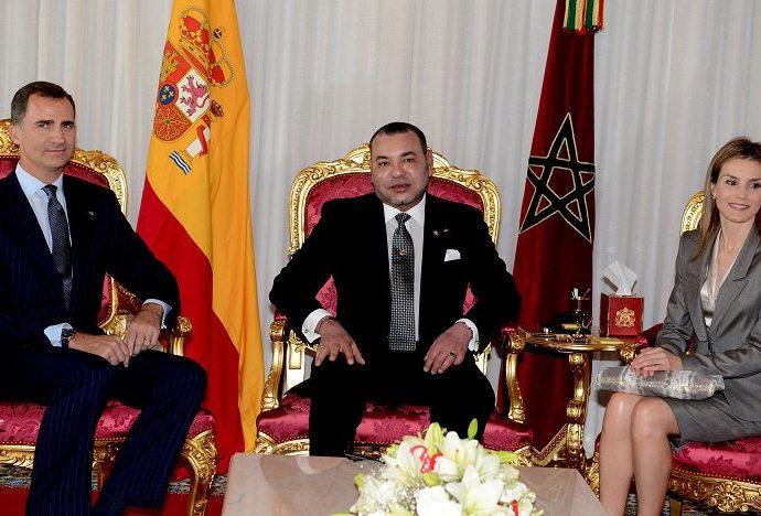 Le Roi Felipe VI et la Reine Letizia, Souverains du Royaume d'Espagne, au Maroc, les 13 et 14 février