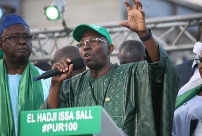 Suspension de sa campagne, les précisions de Issa Sall !