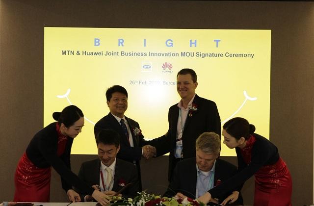 MTN et Huawei signent un accord conjoint d'innovation pour l'Afrique