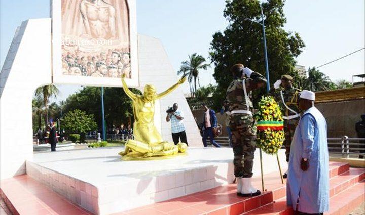 Avancement de la démocratie: L'hommage d'IBK aux Martyrs de Mars 1991