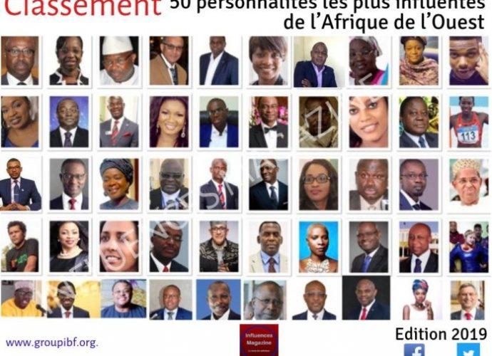 Influences Magazine : Le classement exclusif des 50personnalités les plus influentes en Afrique de l'Ouest