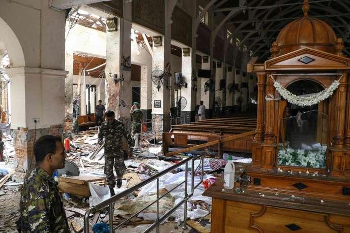 Attentat au Sri Lanka : 158 personnes tuées, 400 autres blessées !