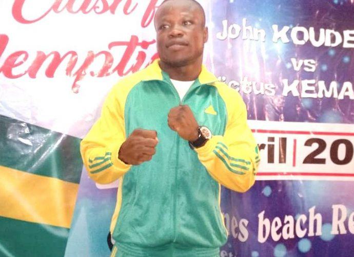 Autres Sports Boxe : Le Togolais John Koudeha veut monter sur le toit de l'Afrique