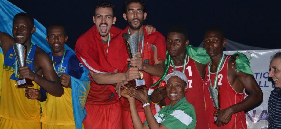 Autres Sports Le Maroc et l'Egypte champions d'Afrique de Beach Volleyball