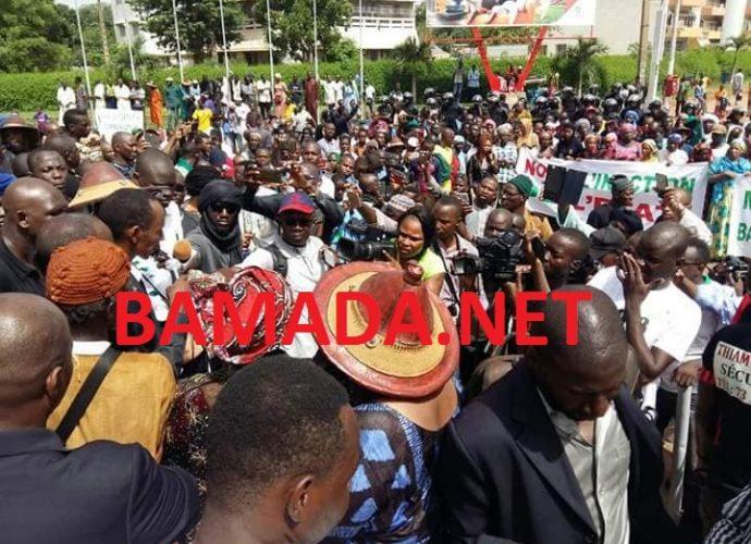 Centre du Mali: manifestations pour réclamer la sécurité