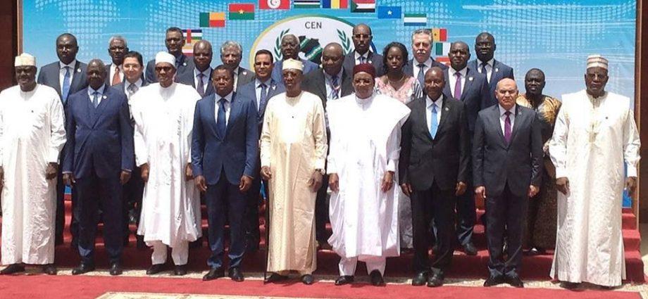 CEN-SAD : « La délocalisation temporaire du siège de notre organisation dans un autre Etat membre, en attendant le retour de la paix et de la stabilité en Libye »