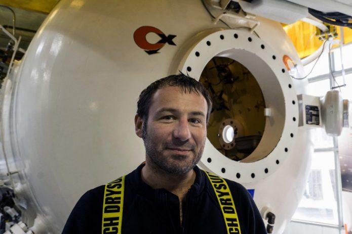 """Frédéric Swierczynski, plongeur-spéléologue en quête de """"belle souffrance"""""""