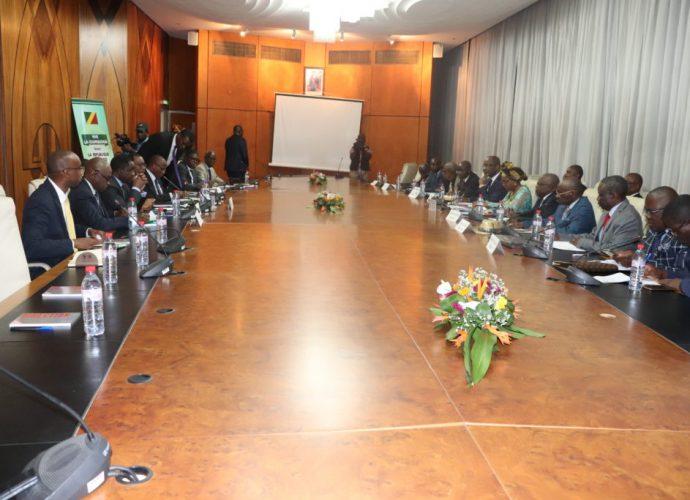 CONGO-COOPERATION/LE DR ADESINA ECHANGE AVEC LES DIPLOMATES SUR L'INTÉGRATION SOUS REGIONALE