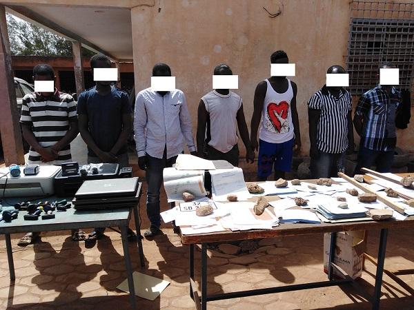 Burkina : 7 faussaires de documents mis aux arrêts