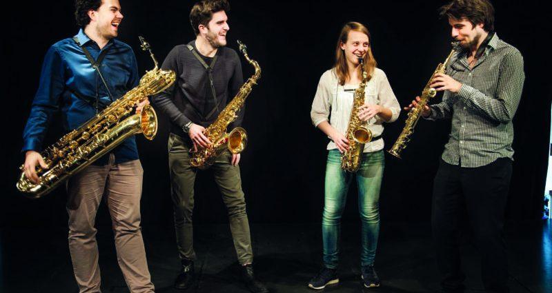 Festival européen d'Algérie. Concert du Arcis Saxophon Quartett : Quatre musiciens dans le vent