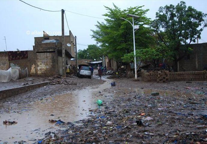 Sema – Sa Missabougou Innondée : Viabilisation zéro