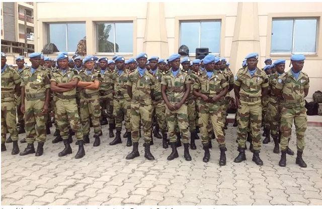 Centrafrique: Les populations s'opposent au départ des casques bleus gabonais