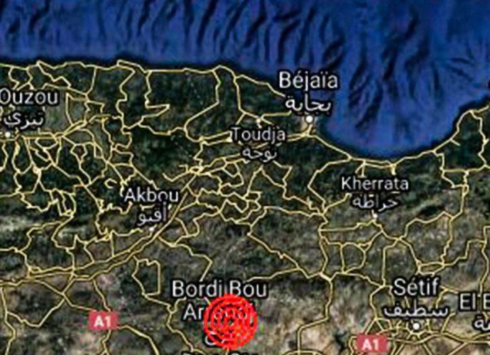Algérie : tremblement de terre à Bordj Bou Arreridj