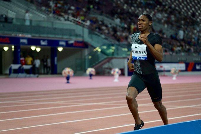 Athlétisme Diamond league Doha: Performances de l'année pour Semenya et Amos, El Bakkali brille