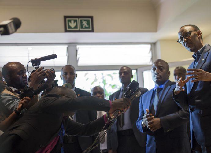 "Paul Kagame: ""le régime Kabila avait refusé à Rwandair de desservir Kinshasa"""