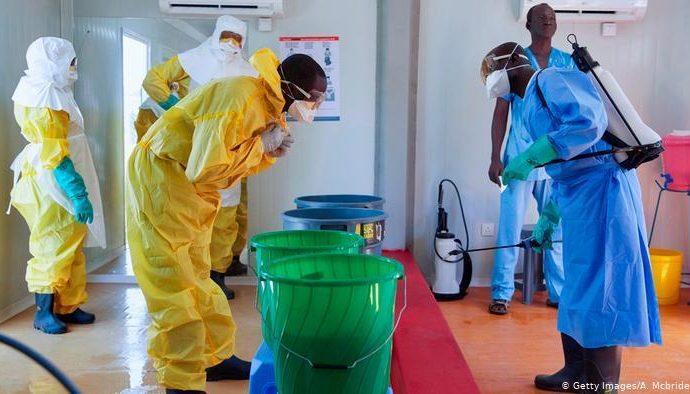 RDCongo: Ebola: une partie des soignants impayés depuis plusieurs mois