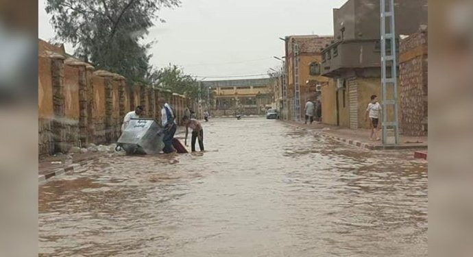 Algérie : Djanet et Illizi croulent sous les eaux dans l'indifférence générale