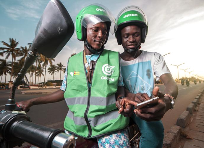 Gozem franchi le cap des 100'000 courses effectuées à Lomé