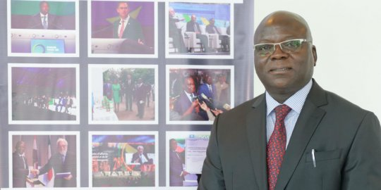 Germain Essohouna MEBA, président de la CCI du Togo : « Le climat des affaires togolais a totalement changé »