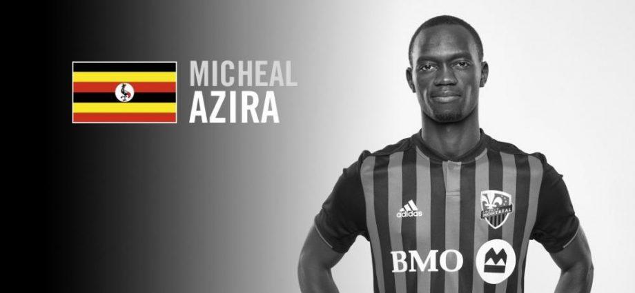 Micheal Azira sélectionné par l'Ouganda pour la Coupe d'Afrique des nations 2019