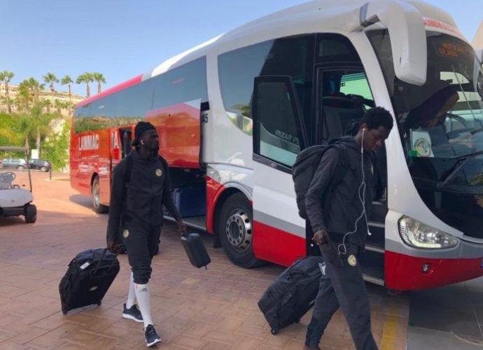 CAN 2019 : Les « Lions » sont bien arrivés en Espagne (photos)
