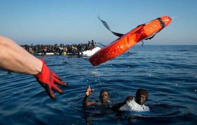 Des migrants clandestins dont des marocains sauvés en Méditerranée