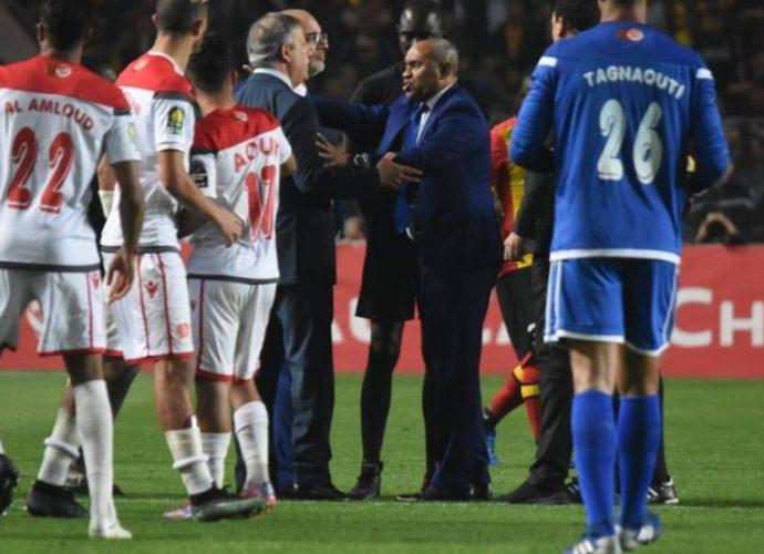 HONTEUSE FINALE DE LA CHAMPIONS LEAGUE AFRICAINE DE FOOTBALL.