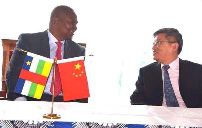 La République populaire de Chine fait don de 16 milliards de FCFA à la RCA