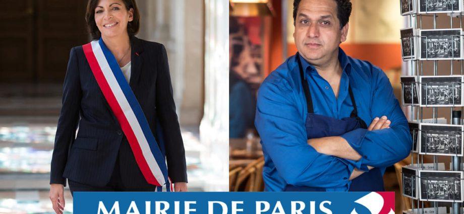 À Paris, le chef tunisien, Nordine Labiadh félicité par Anne Hidalgo !