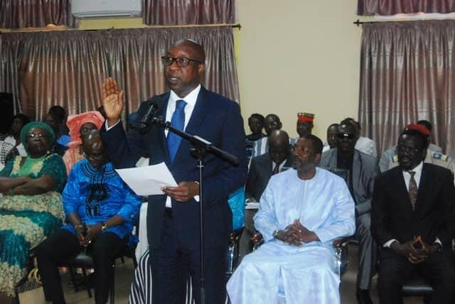 Caisse de dépôts : Paul Kaba Thiéba a prêté serment