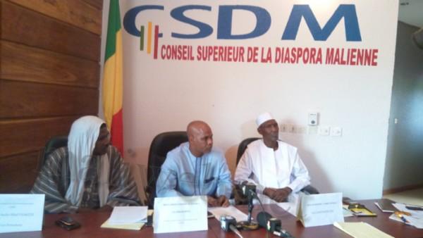 CSDM: Situation de migrants au maghreb