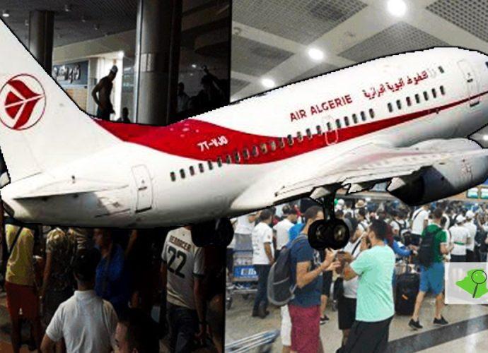 Air Algérie : Sept vols pour rapatrier les supporteurs restés en Égypte