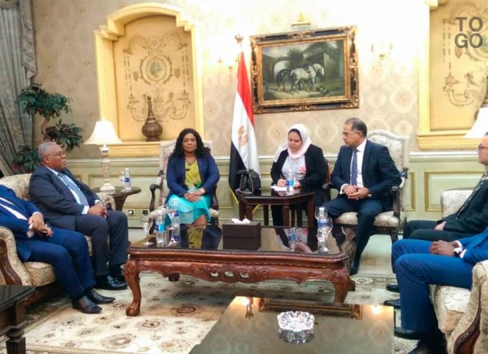 Création d'un groupe d'amitié Togo-Egypte