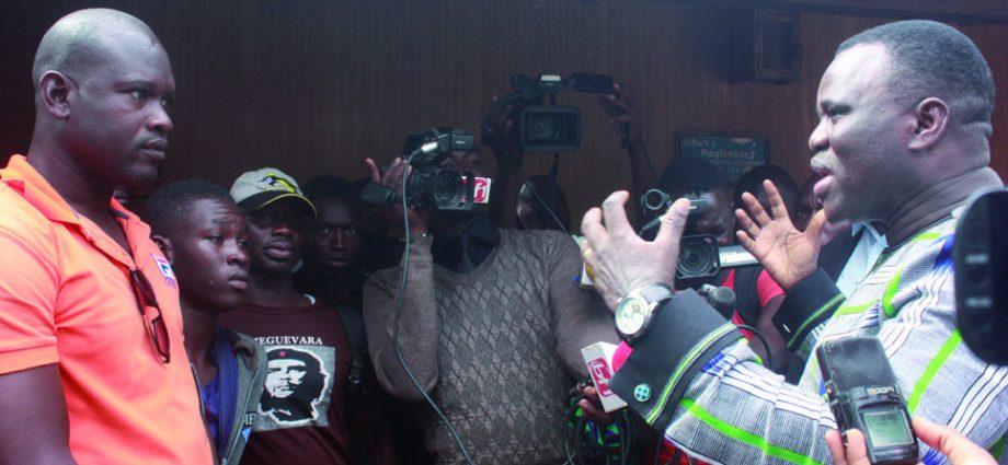 DELIVRANCE DES NOUVEAUX TITRES DE TRANSPORT A LA DGTTM:La petite colère du ministre Vincent Dabilgou